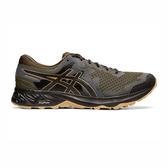 Asics GEL-Sonoma 4 4E [1011A178-300] 男 跑鞋 越野 緩震 透氣 寬楦 亞瑟士 綠黑