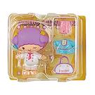 Sanrio 換裝娃娃組 擺飾玩偶 公仔 雙子星 LALA 廚師裝 黃_261394A