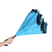 雨傘全自動反向傘雙層免持式德國創意汽車長柄傘車用折疊可站立式