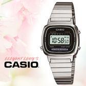 CASIO 手錶專賣店 卡西歐 LA670WD-1D F 女錶 電子錶  壓克力玻璃 不銹鋼錶帶 小巧復古方型