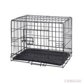 波奇網 寵物貓咪籠子狗狗籠子泰迪金毛籠子怡親可折疊鐵絲寵物籠 MKS雙12