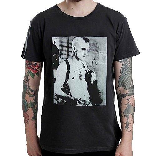 TAXI DRIVER ROBERT DE NIRO短袖T恤-黑色 樂團音樂街頭刺青計程車司機相片照片