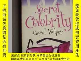 二手書博民逛書店Secret罕見Celebrity 名人的祕密.(英文原版書)Y
