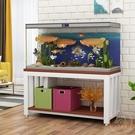 魚缸架 簡易魚缸底座客廳小型草缸水族箱底柜鋼框架多層魚缸架置物架定做【七夕節鉅惠】
