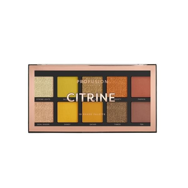 PROFUSION 10色眼影盤- Citrine