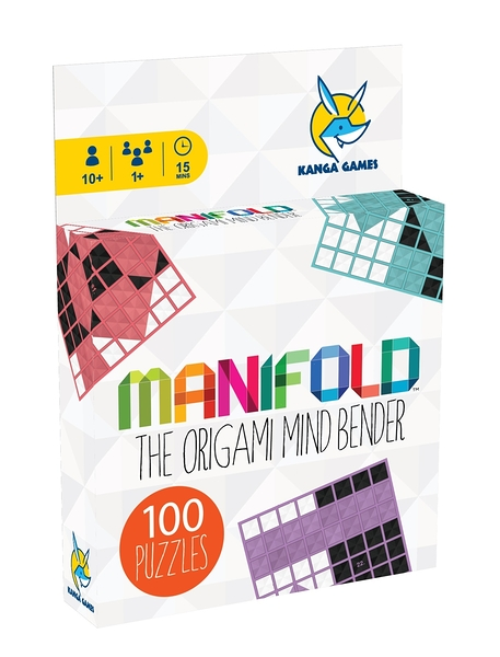 【KANGA GAMES】黑白摺學1 Manifold 家庭益智派對桌上遊戲