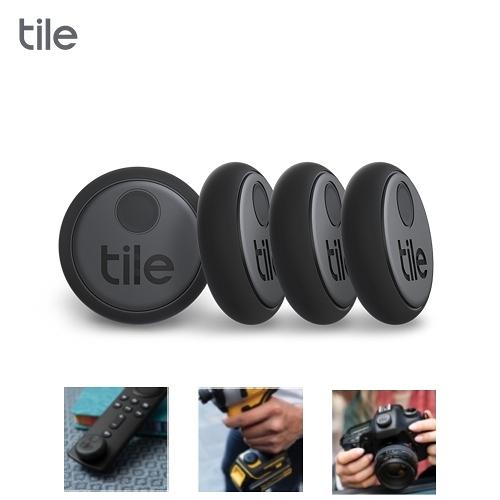 Tile Sticker 智慧藍芽防丟尋物器 4入【限時回饋↘省$219】