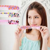 【Disney】可愛圖案造型扁梳/梳子/隨身梳-印花款