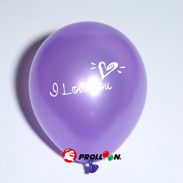 【大倫氣球】12吋 LOVE印刷珍珠色氣球 10入裝 Love Printing Balloons 台灣製造 安心無毒