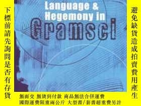 二手書博民逛書店Language罕見And Hegemony In GramsciY255562 Ives, Peter Un