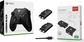 [哈GAME族]免運費 可刷卡 XBOX Series 無線控制器 手把 磨砂黑 + AOLION AL-XB2020 Xbox Series 手把電池組