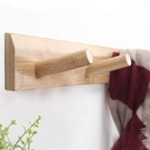 壁掛衣架歐式門後掛鉤創意實木壁掛掛衣架牆...