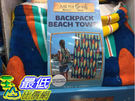 [COSCO代購] C1283153 BACKPACK BEACH TOWEL 背包式海灘巾440GSM 海灘巾: 86 X 160公分