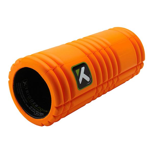 Trigger Point 瑜珈輔具 The Grid平衡訓練滾筒 - 橘色短版