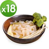 樂活e棧 低卡蒟蒻麵 板條寬麵+濃湯(共18份)