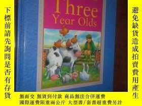 二手書博民逛書店A罕見Treasury for Three Year Olds: