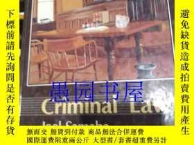 二手書博民逛書店英文原版罕見Criminal Law third edition