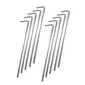 鋁合金簡易營釘組(10入)【愛買】