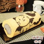 糖果貓烘焙.惡魔貓黑芝麻蛋糕捲(420g/條)★預購﹍愛食網