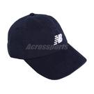 New Balance 帽子 Logo Baseball Cap 深藍 白 男女款 老帽 棒球帽 運動休閒 【ACS】 LAH91014NGO