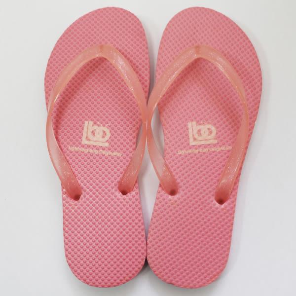 夜光夾腳拖鞋 女款-蜜桃粉 台製海灘拖 台灣製 人字拖 沙灘拖 夾腳拖 拖鞋 室內室外 兩用