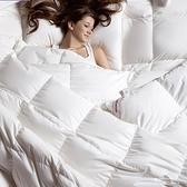 羽絨被 寢具-加厚蓬鬆柔軟秋冬白鴨絨雙人棉被2色72aa27【時尚巴黎】