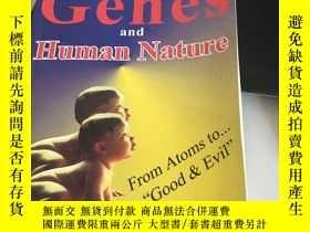 二手書博民逛書店genes罕見and human natureY280165