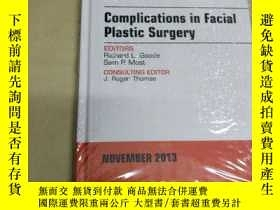 二手書博民逛書店Complications罕見in Facial Plastic