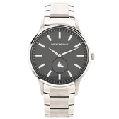 EMPORIO ARMANI 都會時尚小轉盤鋼帶男腕錶43mm(AR11118)270215