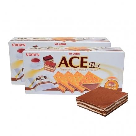 優龍【ACE】提拉米蘇夾心餅乾1盒【合迷雅好物超級商城】