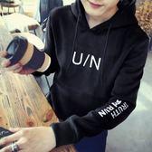 連帽T恤 韓版  寬鬆袋鼠兜外套 長袖T恤【M063】★MagicMan★預購