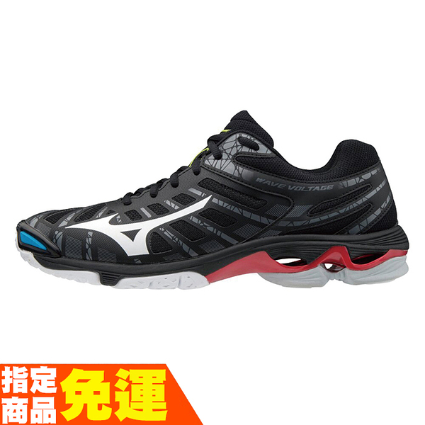 MIZUNO WAVE VOLTAGE 男款排球鞋 進階 黑 V1GA196045 贈運動襪 20FWO