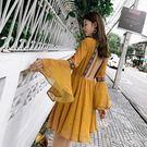 Qmigirl 波西米亞海島度假露背連身裙 洋裝【T1191】