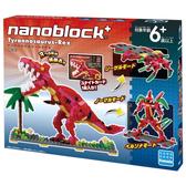 【日本KAWADA河田】Nanoblock迷你積木-霸王暴龍組 PBH-007