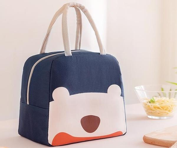 上班族帶飯包鋁箔加厚手提飯袋便當餐包學生時尚保溫裝飯盒的袋子
