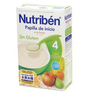 貝康Nutriben 無麩質系列 水果米精(300g) - 西班牙製