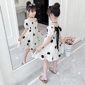 女童洋裝夏裝2020新款兒童網紅超洋氣公主裙大童裝小女孩裙子潮 米娜小鋪