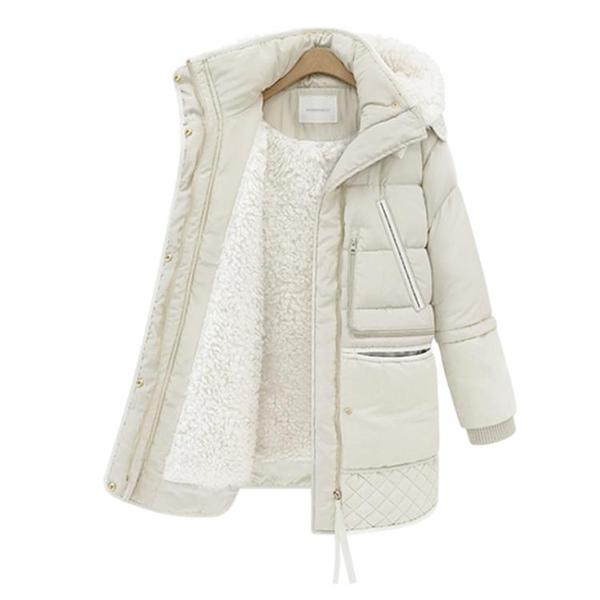 冬裝加厚羽絨服女中長款2020新款韓版潮冬季羊羔毛外套女 年前鉅惠