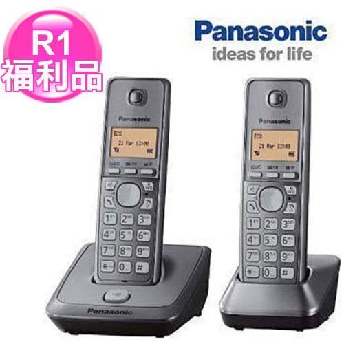 R1【福利品】國際牌1.8G數位雙手機無線電話KX-TG2712