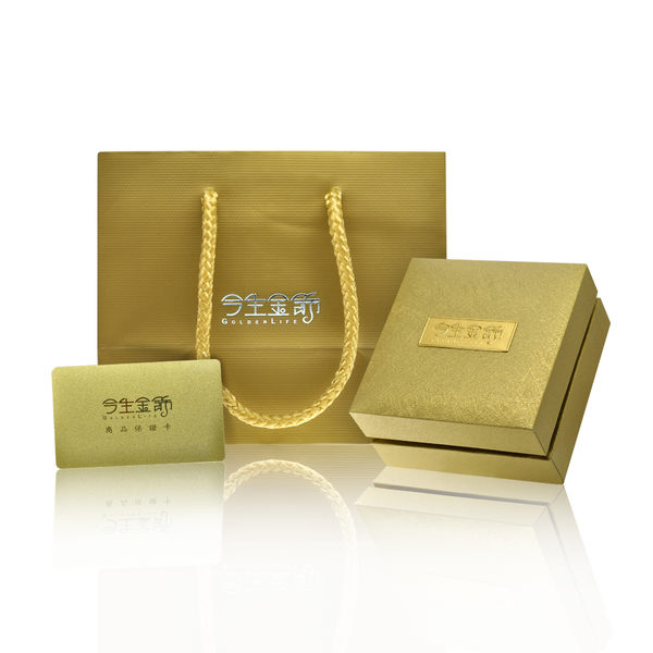 今生金飾  輕舞墜   時尚黃金墜飾
