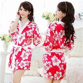 角色扮演 日系 性感睡衣 大阪香姬 浪漫櫻花和服『寵愛佳人』
