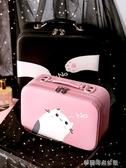 化妝包小號便攜可愛女大容量品網紅ins風超火收納盒箱手提隨身袋『夢露時尚女裝』