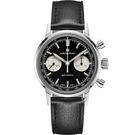 Hamilton 漢米爾頓INTRA-MATIC 正熊貓手上鍊計時機械錶(H38429730)
