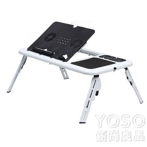 电脑散热器 筆記本電腦桌散熱器平板折疊升降床上折疊電腦桌多功能便攜DIY 快速出貨