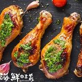 【南紡購物中心】【海鮮主義】燻烤三節翅(150g/包)+燻烤蝴蝶棒腿(200g/包)8包組