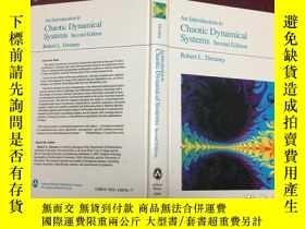 二手書博民逛書店An罕見Introduction To Chaotic Dynamical Systems, Second Edi