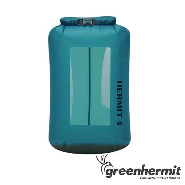 GREEN HERMIT 超輕透視窗防水袋 6L OD1006 登山 露營 泛舟 游泳 水上活動 漂流袋 打包袋 背包內袋