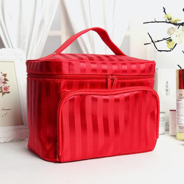 618好康又一發化妝箱韓國化妝包大容量收納包手提多功能