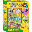 《 Pokemon 》寶可夢太陽&月亮1000片盒裝拼圖(B) / JOYBUS玩具百貨