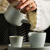 日式手提小茶壺粗陶泡茶壺普洱茶壺創意茶具水杯茶盤套裝家用【非凡】